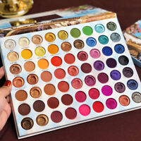 63 Colors Shimmer Shine Glitter Eyeshadow Palette Long Lasting Eye Cosmetics