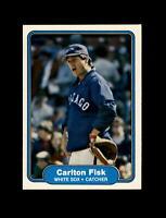 1982 Fleer Baseball #343 Carlton Fisk (White Sox) NM-MT #A