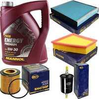 Ölwechsel Set 5L MANNOL Energy Premium 5W-30 Motoröl + SCT Filter KIT 10754708