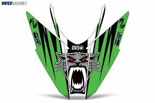 Hood Graphic Arctic Cat Pro Climb Pro Cross Snowmobile Sled Nose Wrap 2012-13 G
