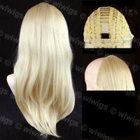 "Wiwigs Blonde 22"" Long 1 Piece Heat Resistant Hairpiece Extension"