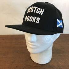 Scotch Rocks Scottish Black Acrylic Snapback Baseball Cap Hat CH9