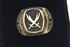925 Sterling Silver Ring with Zulfiqar Sword of Imam Ali Unique Islamic Jewelry