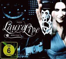 "LAURA PAUSINI ""LAURA- LIVE WORLD TOUR 09"" CD + DVD NEW+"