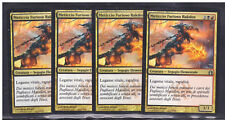 Magic 4x Meticcio Furioso Rakdos - Rakdos Ragemutt 185/274 NC RTR ITA