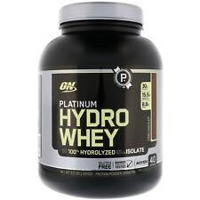 Platinum Hydro Whey, Turbo Chocolate, 3.5 lbs (1.59 kg)