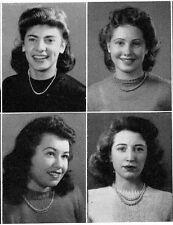 1944 Long Beach NY High School Yearbook~Photos~History~Baseball~Local Ads~++++