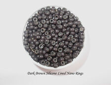 200/400/600/800/1000 Silicone Lined Nano/Beads/Rings, QUICK DISPATCH, UK SELLER