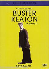CLASSIC COMEDY: BUSTER KEATON VOLUME 3 (PAL R0 Triple DVD Box Set) (Sld)