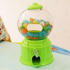 Kids Candy Gumballs Machine Piggy Gumball Dispenser Saving Coin Bank Plastic Box