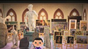 Genuine Art & Statues - Complete Genuine Set - 43 Pieces - Redds Art Paintings
