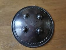"""More details for antique indo persian 9"""" dhal shield #2"""