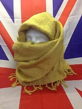 Genuine British Army Surplus Shemagh Scarf in Desert Sand/Gold Grade A 110x110cm