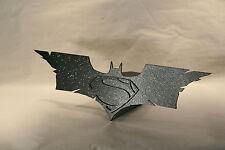 TRAILER HITCH COVER ~ BATMAN  ~ SUPERMAN ~ MAN OF STEEL ~ NEW!  ~ FREE SHIP ~
