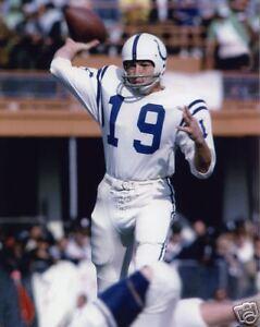 Johnny Unitas - Colts, 8x10 color photo