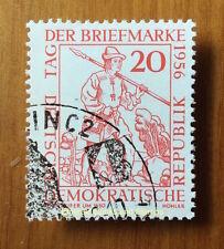 EBS East Germany DDR 1956 Stamp Day - Tag der Briefmarke - Michel 544 CTO