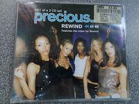 PRECIOUS - REWIND -  CD - 3 TRACK SINGLE