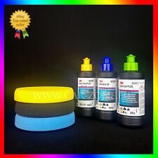 3M Fast Cut Plus + Extra Fine Plus + Ultrafina SE + 3x NAT Polishing pads 135mm