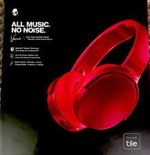 Skullcandy Venue Deep Red Active Noise Canceling Wireless Headphone S6HCW-M685.