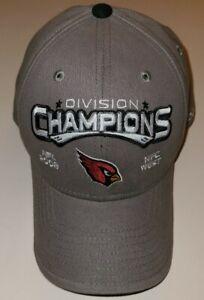 Reebok Arizona Cardinals 2008 NFC West Divison Champions Back To Back Brand New
