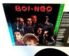Oingo Boingo Danny Elfman Boi-Ngo Vinyl LP Record 1987 New Wave SynthPop Insert