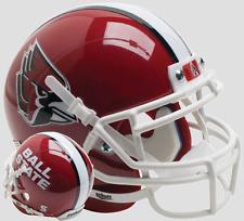 buy popular a219a 5d569 BALL STATE CARDINALS NCAA Schutt XP Authentic MINI Football Helmet