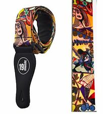 Picasso Style guitar strap guitarist gift art artistic impressionism surreal UK