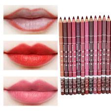 UK 7 PCS/Set Lipstick Lip Liner Waterproof Long Lasting Matte Lipliner