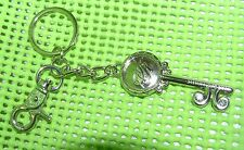 SIENNA RICCHI Key Chain Key ring Purse Jewelry Bling Handbag Silvertone LOOK!