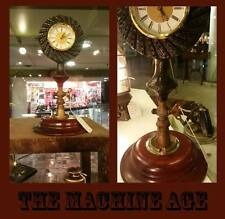 Steampunk Clock Vintage Machine Age  Industrial Age