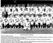 1967 KANSAS CITY A'S TEAM  IN THIS CLASSIC 8 x10