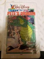 Pete's Dragon VHS Original Walt Disney Home Video Clamshell Release No. 10V rare
