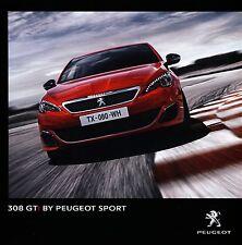 Peugeot 308 GTi  10 / 2015 catalogue brochure Autriche Austrian