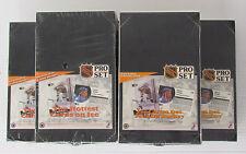 1991-92 Pro-Set Series 1 Hockey 36 CT Unopened Wax Boxes (5) Hasek Lidstrom RCs