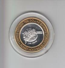PLANET HOLLYWOOD CASINO .999 FINE SILVER LIMITED EDITION GAMING TOKEN A5