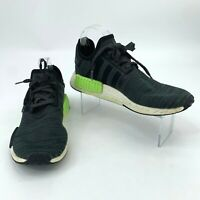 Adidas Running Shoes Men's Size 9.5 NMD R1 Athletic Sports Black Gray Green