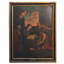 Huile sur toile école italienne XVIIIème