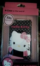 Hello Kitty NEW iPod Touch 4  Pink Sequin Bow Black Case SUPER CUTE!