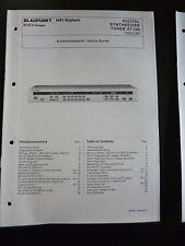 Original Service Manual Blaupunkt Tuner XT-3400