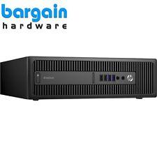 HP EliteDesk 800 G2 SFF Configurable PC Upto i7-6700, 64GB RAM, 480GB SSD, Win10