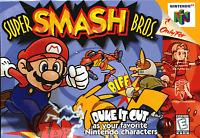 Super Smash Bros. - 1999 Fighting - (Everyone) - Nintendo 64 N64