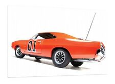 1969 Dodge Charger - General Lee 30x20 Inch Canvas Dukes of Hazzard Picture