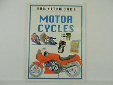 Vintage 1989 How It works Motorcycles Book Honda Gold Wing BMW Moto Guzzi L7149
