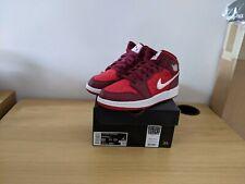 Nike Air Jordan 1 Mid SE Red Quilt (GS) UK 5 & UK 5.5