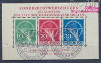Berlin (West) Block1 geprüft Ersttagssonderstempel gestempelt 1949 (8291840