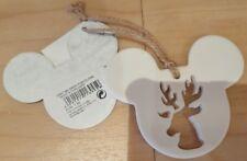 Ornament MICKEY SWEN PORCELAINE / Porcelain Disneyland Paris Christmas