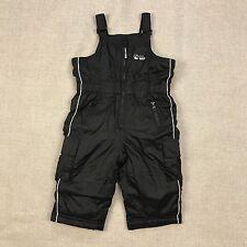 Old Navy Kids Size 12-18M Snow Bib Boys One Piece Padded Black Baby Snowsuit