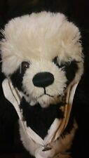 "19"" Panda Bear name US Coast Guard by Anne Cranshaw e. willoughby bear company"