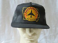 ANG Bowling Tournament 1992 30th Annual Des Moines Iowa Snapback Hat Air Guard