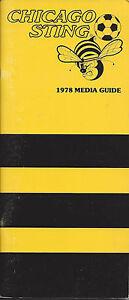1978 Chicago Sting Media Guide
